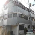 東住吉区北田辺古家付き土地買取しました。